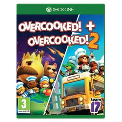 Overcooked! + Overcooked! 2 [XBOX ONE] - BAZÁR (použitý tovar) na progamingshop.sk