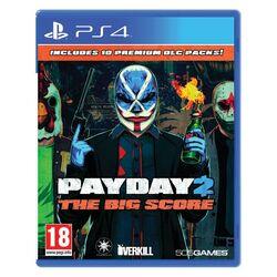 PayDay 2: The Big Score [PS4] - BAZÁR (použitý tovar) na progamingshop.sk