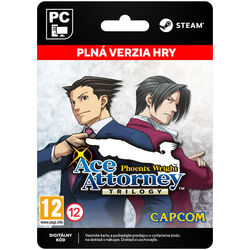 Phoenix Wright: Ace Attorney Trilogy [Steam] na progamingshop.sk