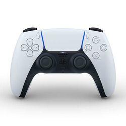 PlayStation 5 DualSense Wireless Controller, black & white - BAZÁR (použitý tovar , zmluvná záruka 12 mesiacov) na progamingshop.sk