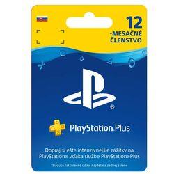 PlayStation Plus predplatné na 365 dní SK na progamingshop.sk