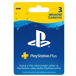 PlayStation Plus predplatné na 90 dní SK na progamingshop.sk