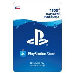 PlayStation Store 1500 Kč - elektronická peňaženka na progamingshop.sk