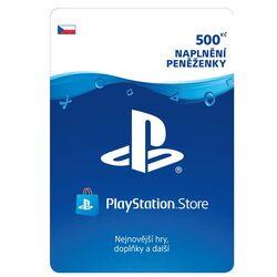 PlayStation Store 500 Kč - elektronická peňaženka na progamingshop.sk