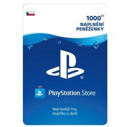 PlayStation Store naplnenie peňaženky 1000 Kč na progamingshop.sk