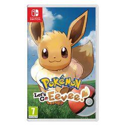 Pokémon: Let's Go, Eevee! [NSW] - BAZÁR (použitý tovar) na progamingshop.sk