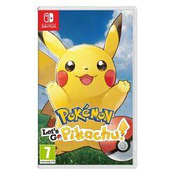 Pokémon: Let's Go, Pikachu! [NSW] - BAZÁR (použitý tovar) na progamingshop.sk