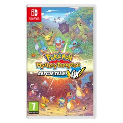 Pokémon Mystery Dungeon: Rescue Team DX na pgs.sk