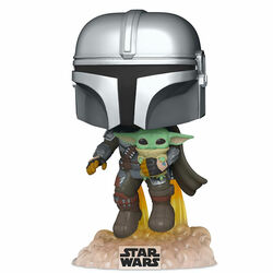 POP! Mando Flying (Star Wars: The Mandalorian) na progamingshop.sk