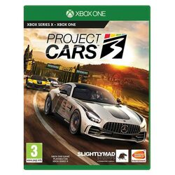 Project CARS 3 [XBOX ONE] - BAZÁR (použitý tovar) na progamingshop.sk