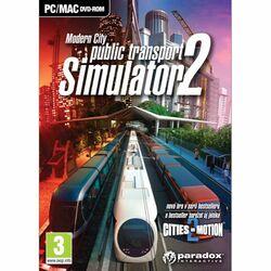 Public Transport Simulator 2: Modern City CZ na progamingshop.sk
