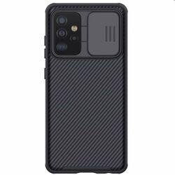 Puzdro Nillkin CamShield pre Samsung Galaxy A52 - A525F / A52s 5G, čierne na pgs.sk