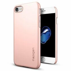 Puzdro Spigen Thin Fit pre Apple iPhone 7 a iPhone 8, Rose Gold na pgs.sk