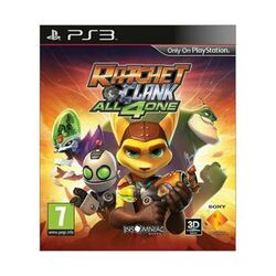 Ratchet & Clank: All 4 One-PS3 - BAZÁR (použitý tovar) na progamingshop.sk
