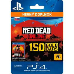 Red Dead Redemption 2 (CZ 150 Gold Bars) na pgs.sk