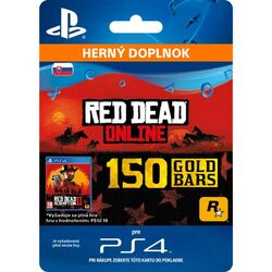 Red Dead Redemption 2 (SK 150 Gold Bars) na progamingshop.sk