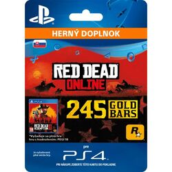 Red Dead Redemption 2 (SK 245 Gold Bars) na pgs.sk