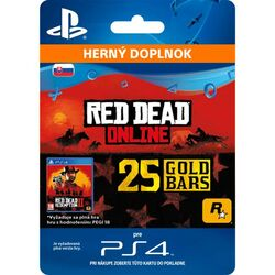 Red Dead Redemption 2 (SK 25 Gold Bars) na pgs.sk