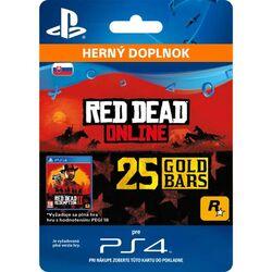 Red Dead Redemption 2 (SK 25 Gold Bars) na progamingshop.sk