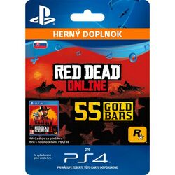 Red Dead Redemption 2 (SK 55 Gold Bars) na pgs.sk