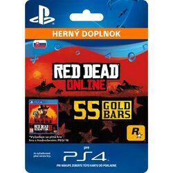 Red Dead Redemption 2 (SK 55 Gold Bars) na progamingshop.sk