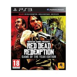 Red Dead Redemption (Game of the Year Edition)-PS3 - BAZÁR (použitý tovar)  na progamingshop.sk