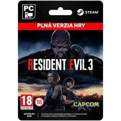 Resident Evil 3 [Steam] na progamingshop.sk