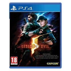Resident Evil 5 [PS4] - BAZÁR (použitý tovar) na progamingshop.sk
