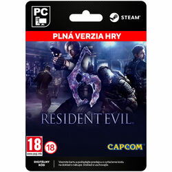Resident Evil 6 [Steam] na progamingshop.sk
