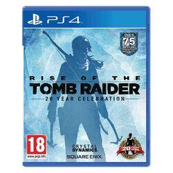 Rise of the Tomb Raider (20 Year Celebration Edition)  [PS4] - BAZÁR (použitý tovar) na progamingshop.sk