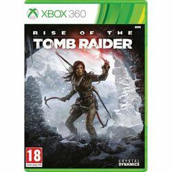 Rise of the Tomb Raider [XBOX 360] - BAZÁR (použitý tovar) na progamingshop.sk