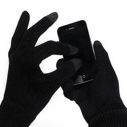 Rukavice na ovládanie dotykového displeja, čierne na pgs.sk