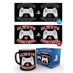 Šálka Playstation - In Control Heat Change  na progamingshop.sk