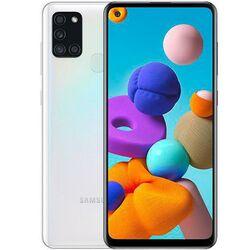 Samsung Galaxy A21s - A217F, 3/32GB, Dual SIM   White, Trieda A - použité, záruka 12 mesiacov na progamingshop.sk