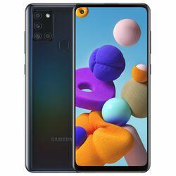 Samsung Galaxy A21s - A217F, 4/64GB, Dual SIM   Black, Trieda A - použité, záruka 12 mesiacov na progamingshop.sk