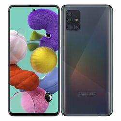 Samsung Galaxy A51 - A515F, 4/128GB, Dual SIM | Black - nový tovar, neotvorené balenie na pgs.sk