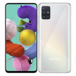 Samsung Galaxy A51 - A515F, 4/128GB, Dual SIM | White - nový tovar, neotvorené balenie na progamingshop.sk