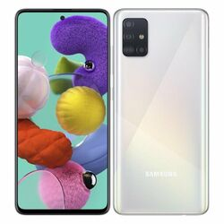 Samsung Galaxy A51 - A515F, 4/128GB, Dual SIM | White, Trieda A+ - použité, záruka 12 mesiacov na progamingshop.sk