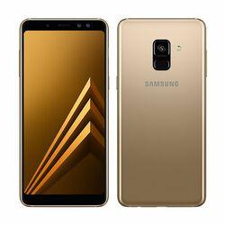 Samsung Galaxy A8 2018 - A530F, Dual SIM, 32GB | Gold, Trieda C - použité, záruka 12 mesiacov na progamingshop.sk