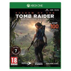 Shadow of the Tomb Raider (Definitive Edition) [XBOX ONE] - BAZÁR (použitý tovar) na progamingshop.sk
