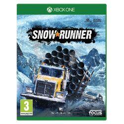 SnowRunner CZ [XBOX ONE] - BAZÁR (použitý tovar) na pgs.sk
