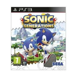 Sonic Generations [PS3] - BAZÁR (použitý tovar) na progamingshop.sk