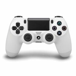Sony DualShock 4 Wireless Controller, glacier white na progamingshop.sk