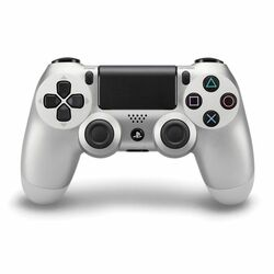 Sony DualShock 4 Wireless Controller, silver na progamingshop.sk