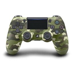Sony DualShock 4 Wireless Controller v2, green camouflage - BAZÁR (použitý tovar , zmluvná záruka 12 mesiacov) na pgs.sk