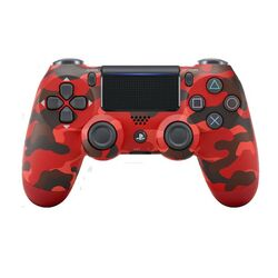 Sony DualShock 4 Wireless Controller v2, red camouflage - BAZÁR (použitý tovar) na progamingshop.sk
