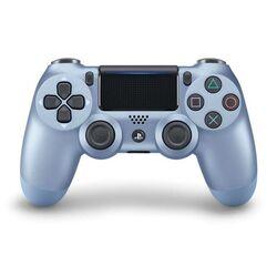 Sony DualShock 4 Wireless Controller v2, titanium blue na progamingshop.sk
