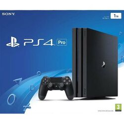 Sony PlayStation 4 Pro 1TB, jet black na progamingshop.sk
