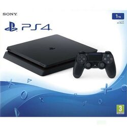 Sony PlayStation 4 Slim 1TB, jet black na pgs.sk