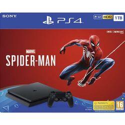 Sony PlayStation 4 Slim 1TB + Marvel's Spider-Man CZ na pgs.sk